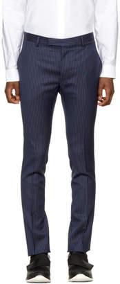 Lanvin Blue Striped Trousers