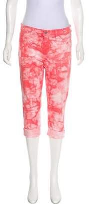 J Brand Twisted Coral Crop Pants