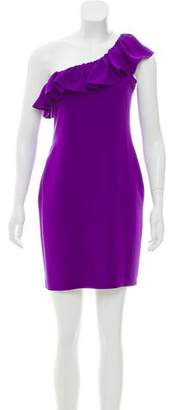 Jay Godfrey One-Shoulder Mini Dress