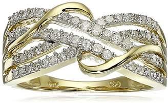 10k Gold Diamond Ring (1/3 cttw