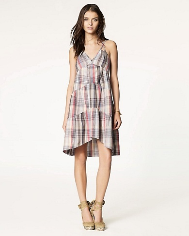Brook Plaid Dress