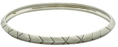 House of Harlow 1960 Plated Thin Stack Bracelet in Yellow Gold and Palladium Silver