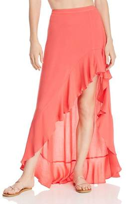 Aqua Ruffled High/Low Skirt - 100% Exclusive