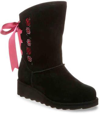 8e5ec5dda BearPaw Carly Youth Wedge Boot - Girl's