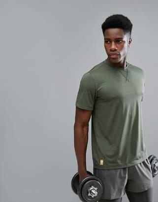Skins Training Avatar T-Shirt In Khaki SP00501213009
