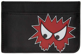McQ Black Rave Monster Card Holder