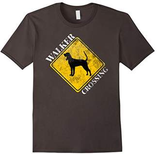 Walker Crossing T-Shirt for Coonhound Lovers