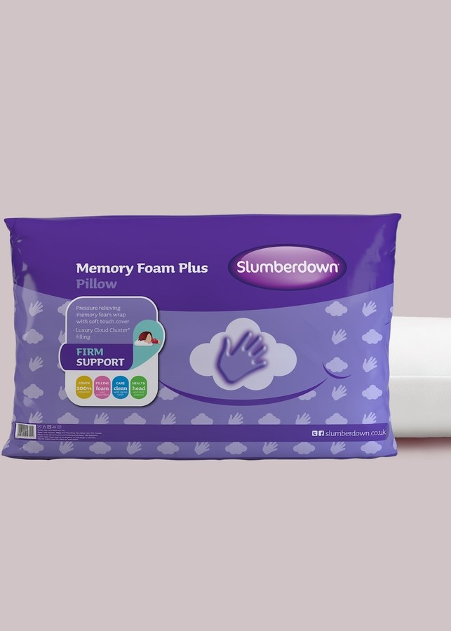 Slumberdown Traditional Memory Foam Pillow - ShopStyle.co.uk Home