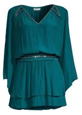Ramy Brook Colleen Stud Mini Dress