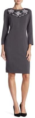 Iren Klairie Lace Bib Dress (Regular & Plus)