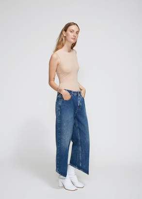 MM6 MAISON MARGIELA Pointed Hem Boyfriend Jean