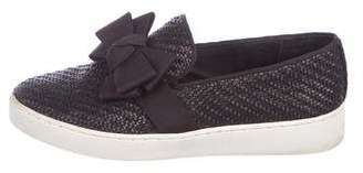Michael Kors Woven Slide Sneakers