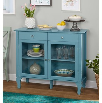 Simple Living Layla 2-Drawer Buffet, Multiple Colors