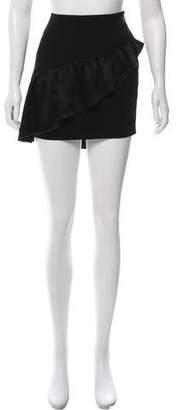Cinq à Sept Asymmetrical Mini Skirt