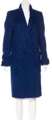 Sally LaPointe Alpaca & Wool Long Coat
