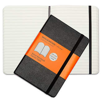 Moleskine NEW Classic Softcover Notebook Ruled Pocket Black