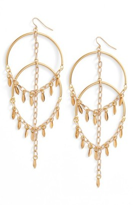 Women's Vanessa Mooney Cannes Chandelier Earrings $75 thestylecure.com