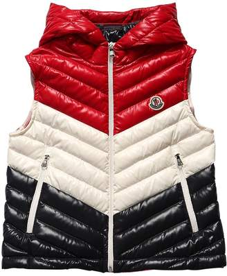Moncler Hariki Hooded Nylon & Down Vest