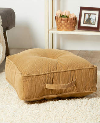 Greendale Home Fashions Omaha and Amigo Fabric Square Floor Pillow