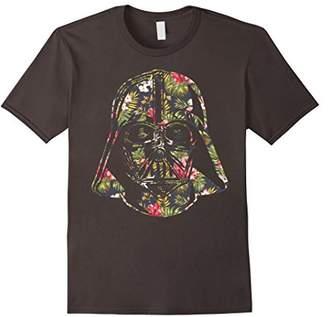 Star Wars Darth Vader Floral Tropical Hawaiian Flower Bouquet T-Shirt