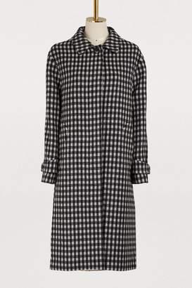 Officine Generale Macie virgin wool coat