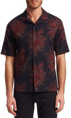 McQ Billy Floral Button-Down Shirt
