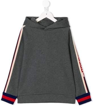 Gucci Kids trim hoodie