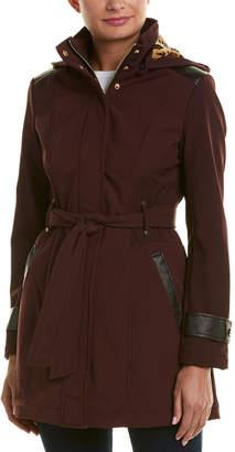 Via Spiga Belted Coat