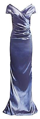Teri Jon by Rickie Freeman Women's Taffeta Gown