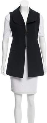 Marni Rounded Collar Longline Vest