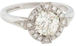 d Collection Sophia 1.05ct Platinum Diamond Engagement Ring