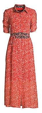 Nanette Lepore Women's Frontier Floral Midi Dress