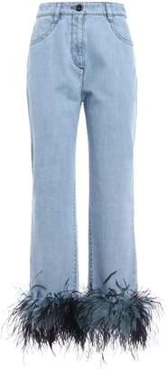 Prada Bleached Jeans