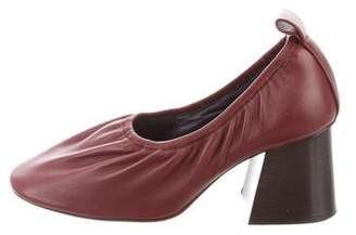 Celine Leather Glove Pumps