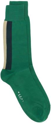 Marni rear stripe detail socks