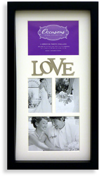 Bed Bath & Beyond Occasions 4-Opening Wedding Collage Frame