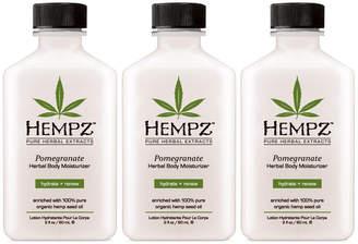 Hempz Pomegranate Herbal Body Moisturizer Trio (Three Items), 2-oz, from Purebeauty Salon & Spa