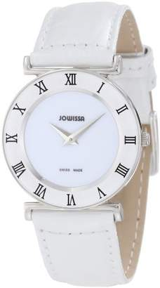 Jowissa Women's J2.001.M Roma Stainless Steel Watch with Leather Band