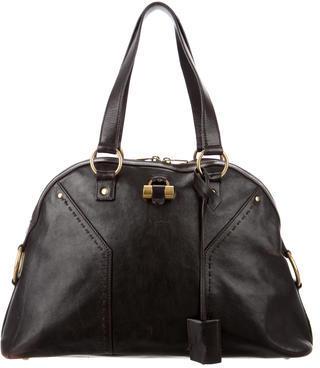 Saint LaurentYves Saint Laurent Leather Mini Muse Bag
