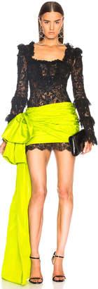 Dundas Square Neck Mini Dress