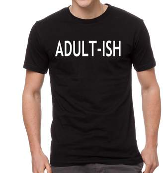 Express Sticky Adult-ish Funny Men's Cotton Shirt Tee T-Shirt Unisex