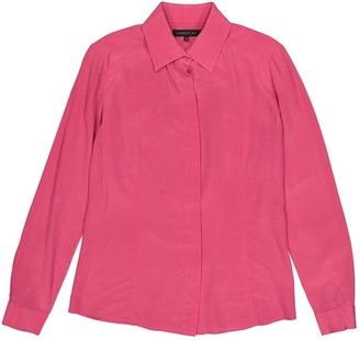 Barbara Bui Pink Silk Top for Women