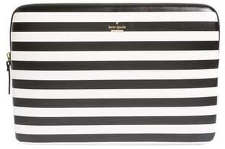 Kate Spade Stripe Universal Laptop Sleeve