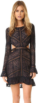 For Love & Lemons Emerie Cutout Dress $268 thestylecure.com