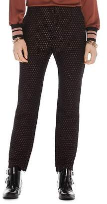 Scotch & Soda Straight Star Print Pants