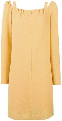 See by Chloe cut out shoulder dress