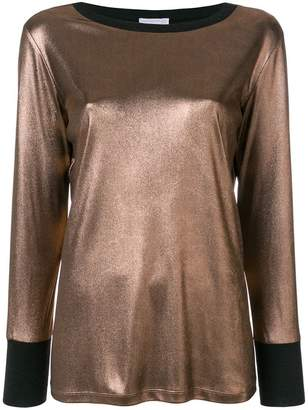 Fabiana Filippi loose fit knitted top