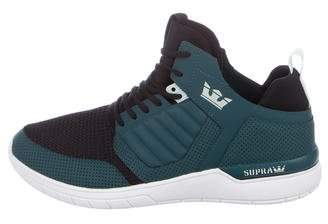 Supra Leather Low-Top Sneakers