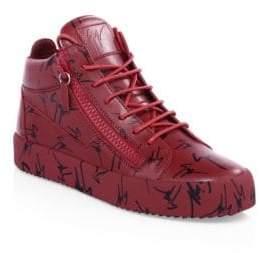 Giuseppe Zanotti Logo Leather Platform Sneakers
