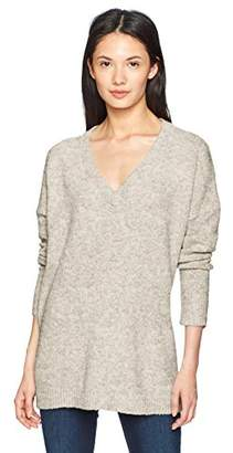 French Connection Women's Flossy Knits V Neck Sweater